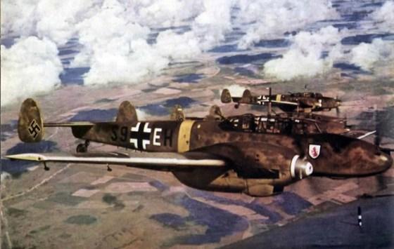A German BF-110.