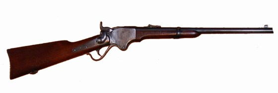 A Spencer repeating rifle.