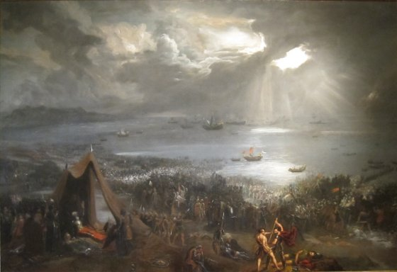 The Battle of Clontarf.