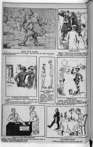 A comic strip from an Australian soldiers' magazine.
