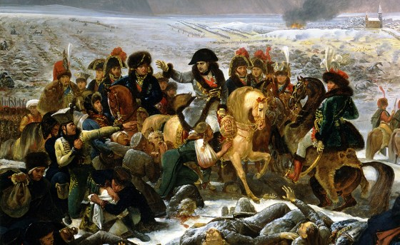 """Napoleon on the Battlefield of Eylau"" by Antoine Jean Gros."