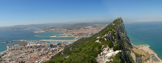 The British dug more than 30 kilometres of tunnels into the Rock of Gibraltar.