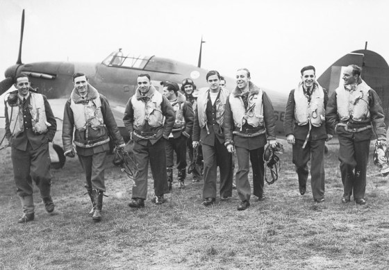 Some of the dogfights during the Battle of Britain were among history's largest.