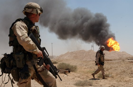 American soldiers in Iraq. (Image courtesy: U.S. Dept. of Defense)
