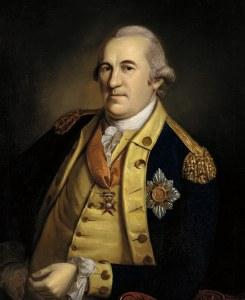 Friedrich Wilhelm von Steuben.