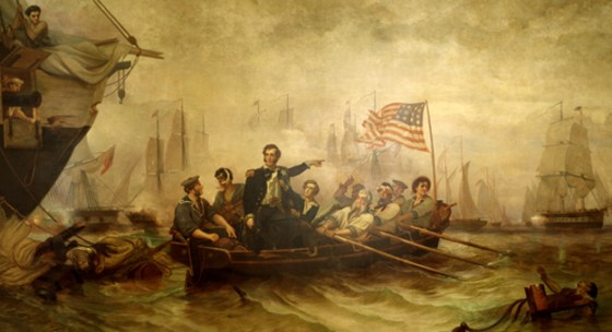 Oliver Hazard Perry scored one of America's most impressive naval victories of the 19th Century, and he did it 600 miles from the nearest ocean.