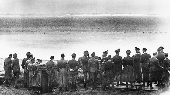 Only 21 miles of water separated the German army from Dover, England. Hitler's abortive invasion of Great Britain was just one of many military campaigns that were called off.