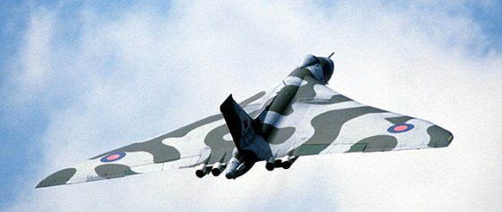 Vulcan bombers trained throughout 1982 for possible attacks on Argentina.