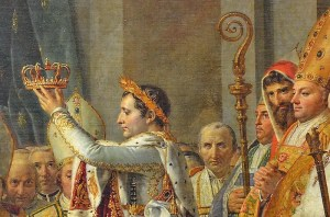 Napoleon famously crowns himself emperor in 1804. But did he let the trappings of royalty go to his head?