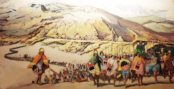 For more than 100 years the Incan army was virtually undefeated. That all changed when the Spanish arrived.