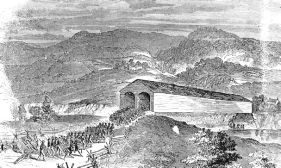 Union and Confederate troops fought hard for Romney, West Virginia.