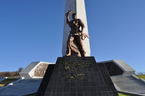 Namibia's Heroes Acre memorial is partially empty and is already falling apart. Image courtesy the Namibia tourism board.