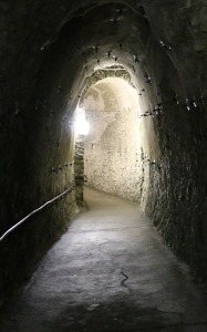 More than 3 miles of tunnels wind beneath Dover Castle. MHN was down there in August. For the record, we didn't encounter a single ghost.