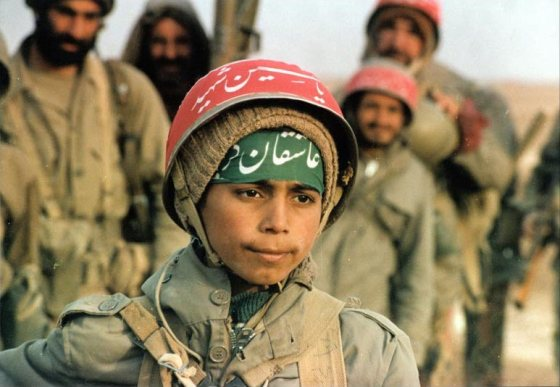 Children as young as 12 were invited to join the Basij -- Iran's suicide army.