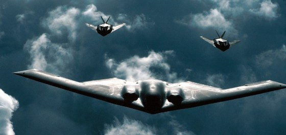 America wasn't the first nation to dabble in stealth technology. (Image courtesy the U.S. Air Force)