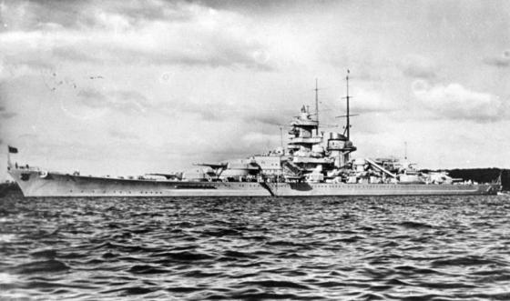 The German battleship Gneisenau along with more than 20 other surface vessels sped through the Dover Strait in early 1942. The British guns were waiting for them.