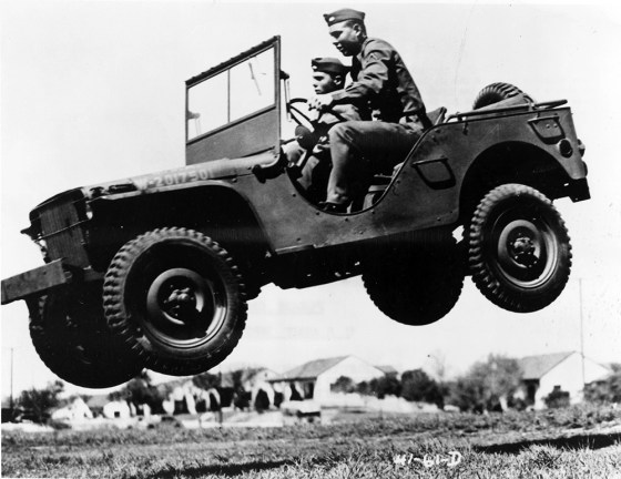 """Jeep"", ""quad"" or ""bantam"" -- regardless of the name, the famous army utility vehicle was everywhere in World War Two. (Image source: WikiCommons)"