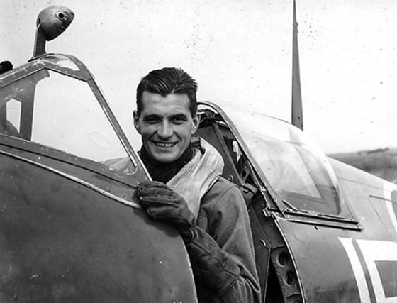 Spitfire ace, Johnnie Johnson.