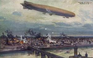 England was paralyzed with fear after the first Zeppelin raid in January 1915.