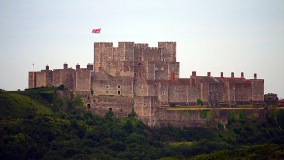 Dover Castle. (Image source: MilitaryHistoryNow.com)