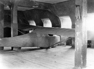 Inmates of Colditz castle secretly built this two-man escape glider while interned in the Nazi prison.