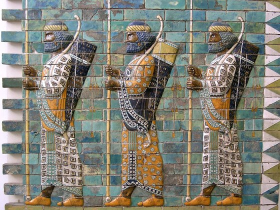 Persia's best-of-the-best were known as the Immortals. (image source: WikiCommons)