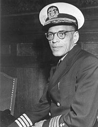 Hugh Mulzac, the first African American skipper in the Merchant Marine fought to have his vessel racially integrated. (Image source: WikiCommons)