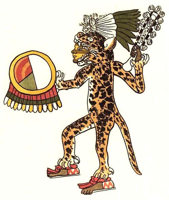 An Aztec Jaguar. (Image source WikiCommons)