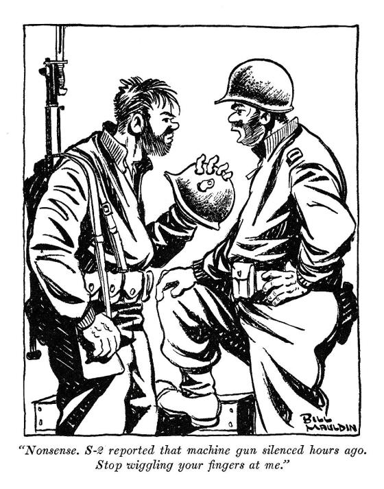 the fighting cartoonist  u2013 how bill mauldin u2019s comics