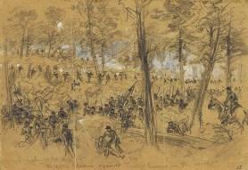 The Third Battle of Winchester, September, 1864.