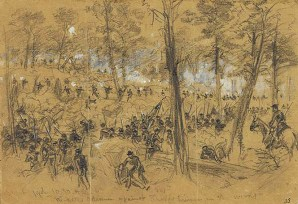 The Third Battle of Winchester, September, 1864.