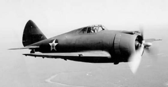 The short and stubby P-43 Lancer - the precursor to the Thunderbolt (Image source: WikiCommons)