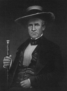 Sam Houston. (Image source: WikiCommons)