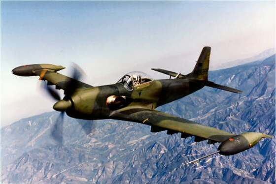 The Piper PA-48 Enforcer evolved from the P-51 Mustang. (Image source: Piper)