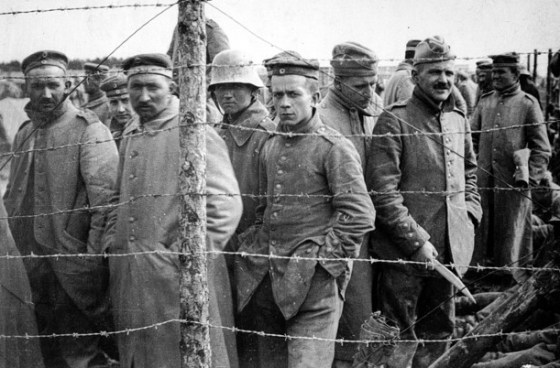 Starvation was commonplace for German POWs in World War One (Image source: WikiCommons)