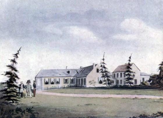 Longwood House, Napoleon's residence on St. Helena. (Image source: WikiCommons)