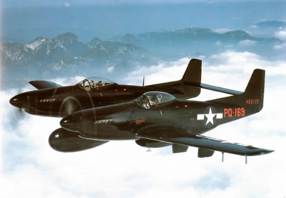 F-82 Mustangs were the first Allied warplanes to fight in the Korean War.