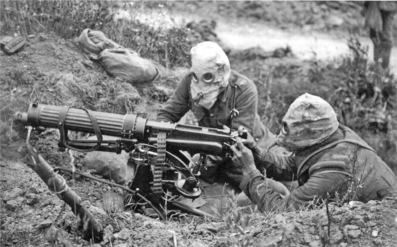 More than 20 different chemical weapons were developed, tested and/or used during the First World War. (Image source: WikiCommons)