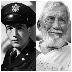 John Huston in WW2 and later in life. (Image source: Flickr)