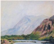 View at Lochmore. (Image source: http://www.museumsyndicate.com/Public Domain)