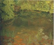 Goldfish Pool at Chartwell. (Image source: http://www.museumsyndicate.com/Public Domain)
