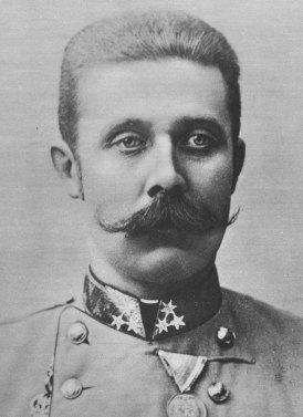 Austria Hungary's Archduke Franz Ferdinand. (Image source: WikiCommons)