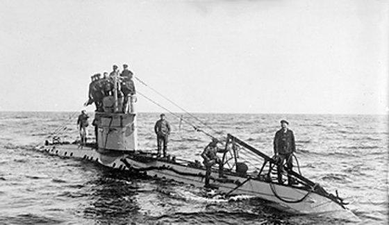 A Germany Type UC-1 coastal submarine. (Image source: WikiCommons)