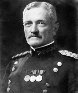 "John Joseph ""Black Jack"" Pershing, commander of the American Expeditionary Force in France during World War One. (Image source: WikiCommons)"
