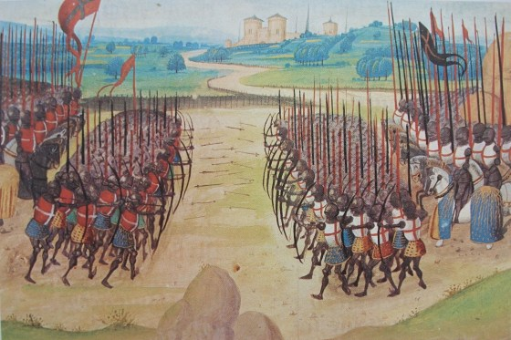 Archers played a decisive role in Henry's strategy.