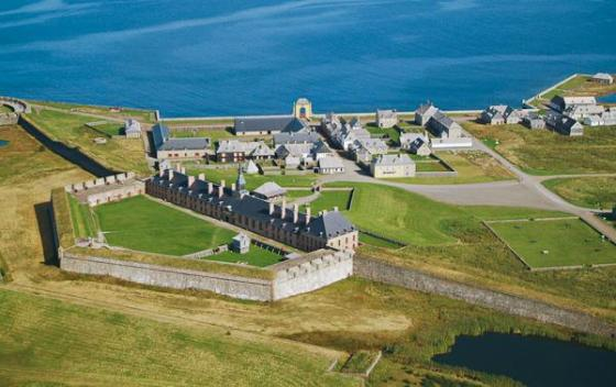 Fortress Louisbourg. (Image: Fortress Louisbourg Association)