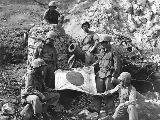 Capture the Flag – WW2 Vet Describes Taking Special Souvenir from Okinawa Campaign (LISTEN)