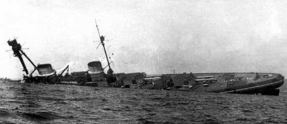 The SMS Derfflinger. (Image source: WikiCommons)