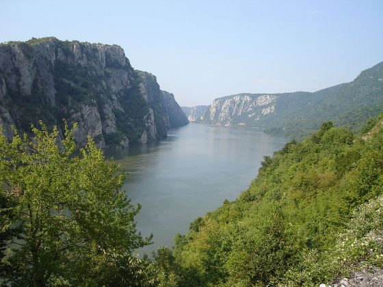 "Ambush country -- Romania's ""Iron Gate"" on the Danube was the site of the Battle of Tapae. (Image source: WikiCommons)"