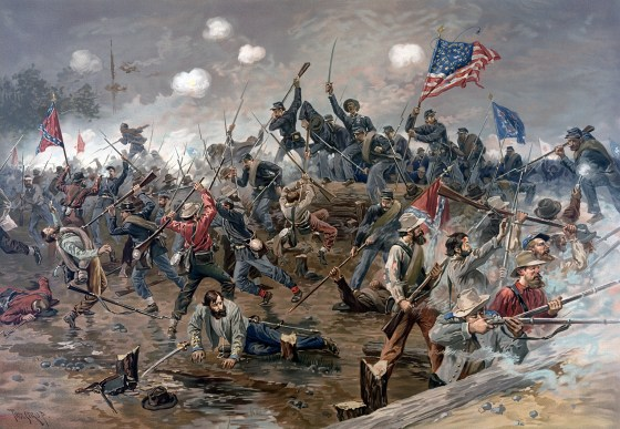 Could the Civil War have ended one, two or even three years earlier? Historians have long imagined scenarios which might have forced a speedy conclusion to the conflict. (Image source: WikiCommons)